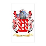 Chadfield Sticker (Rectangle 10 pk)