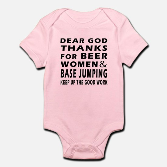Beer Women And Base Jumping Infant Bodysuit