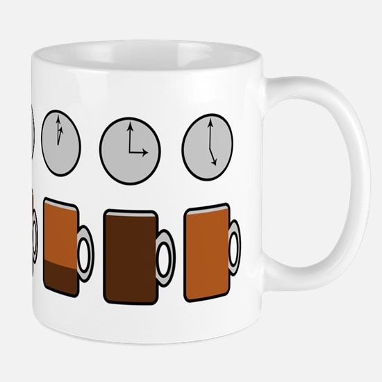 Coffee-Bourbon Ratios Mug