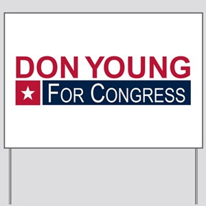 Elect Don Young Yard Sign