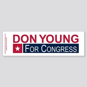 Elect Don Young Sticker (Bumper)