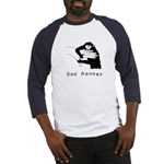 Monkey Day bad monkey Baseball Jersey