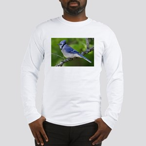 Happy Blue Jay Long Sleeve T-Shirt