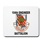104TH ENGINEER BATTALION Mousepad