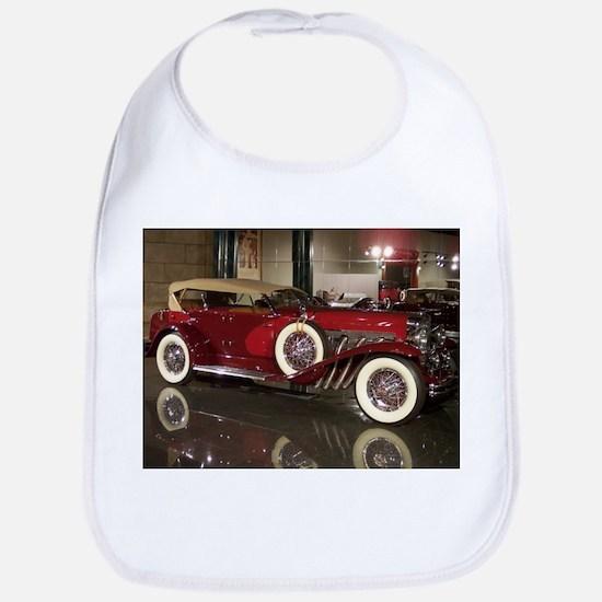 Big Red Car Bib