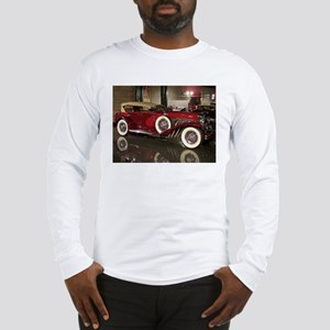 Big Red Car Long Sleeve T-Shirt