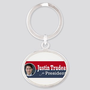 Justin Trudeau for President Keychains