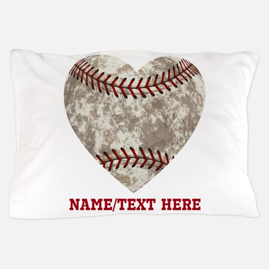 Baseball Love Personalized Pillow Case