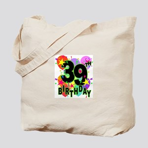 BIRTHDAY 5 Tote Bag