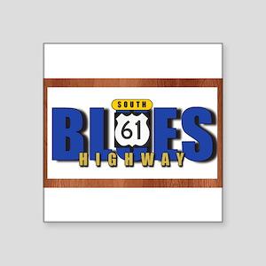 Blues Highway 61 Sticker