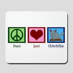 Peace Love Alpacas Mousepad