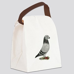 Show Racer Grizzle Pigeon Canvas Lunch Bag