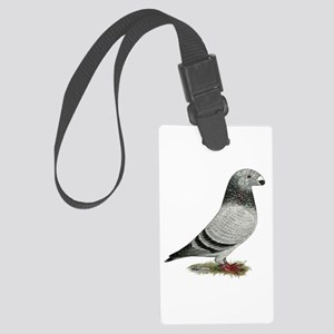 Show Racer Grizzle Pigeon Luggage Tag