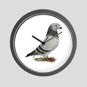 Show Racer Grizzle Pigeon Wall Clock