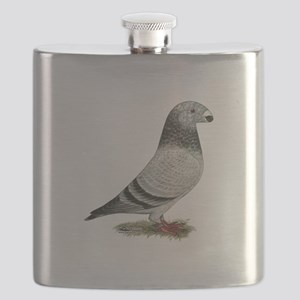 Show Racer Grizzle Pigeon Flask