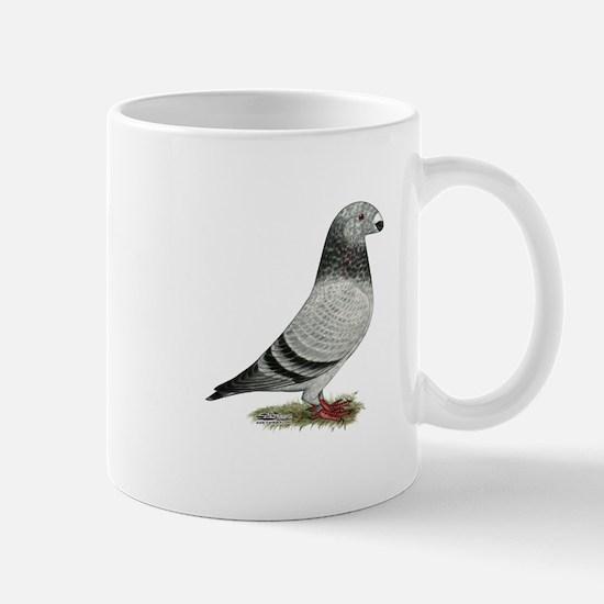 Show Racer Grizzle Pigeon Mug