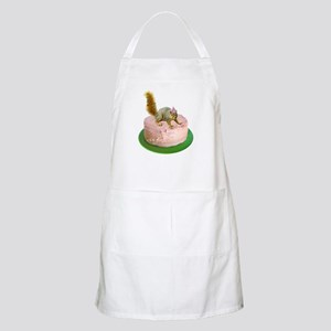 Squirrel on Cake Apron