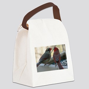 Cant Hear Ya with Your Mouth Full Canvas Lunch Bag