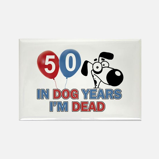 50 year old gift ideas Rectangle Magnet
