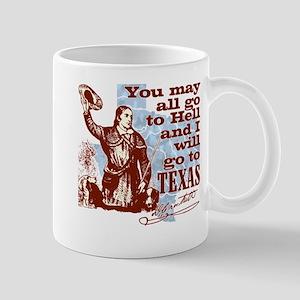Davys Gone To Texas Mug