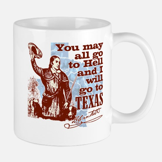 Davys Gone To Texas Mug