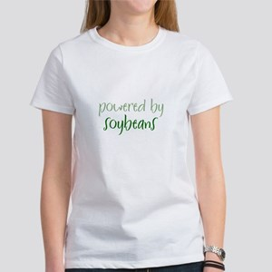 Powered By soybeans Women's T-Shirt