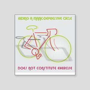 Manic-Depressive Cycle Sticker