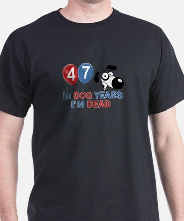 Funny 47 year old gift ideas T-Shirt