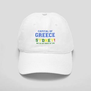 CAPITAL OF GREECE - SYDNEY! Cap