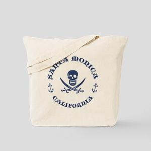 Santa Monica Pirate Tote Bag