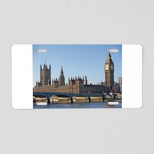 London Aluminum License Plate