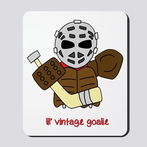 Lil Vintage Hockey Goalie Mousepad