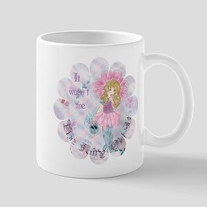 Hush Fairy_flower shape Mugs