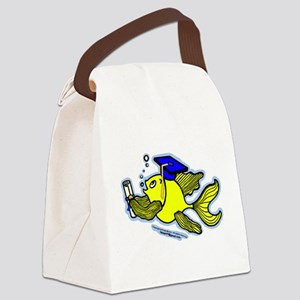 Gratuate fish Canvas Lunch Bag