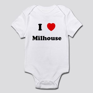 I Love Milhouse Infant Bodysuit