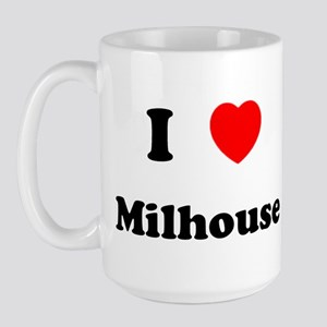 I Love Milhouse Large Mug