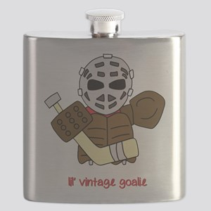 Lil Vintage Hockey Goalie Flask
