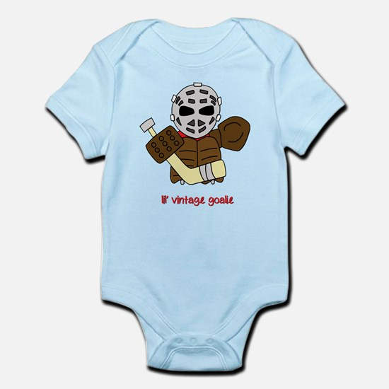 Lil Vintage Hockey Goalie Body Suit