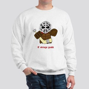 Lil Vintage Hockey Goalie Sweatshirt