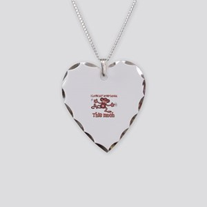 I love Step Mom this much Necklace Heart Charm