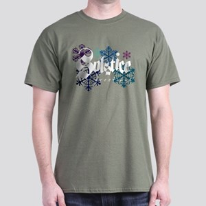 """Solstice Greetings"" Dark T-Shirt"