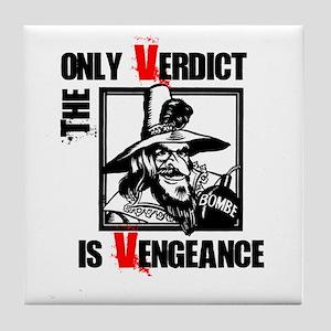 Vengeance Tile Coaster