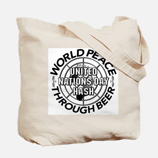 2002 World Peace Through Beer Tote Bag