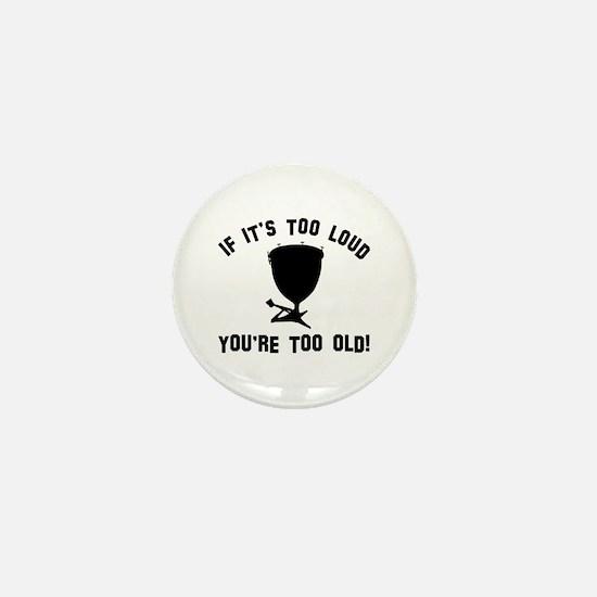 Timpani Vector designs Mini Button