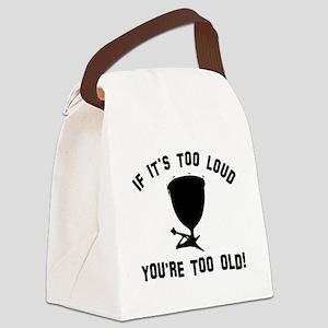 Timpani Vector designs Canvas Lunch Bag