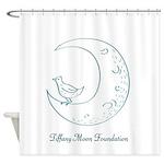 Tiffany Moon Foundation Shower Curtain
