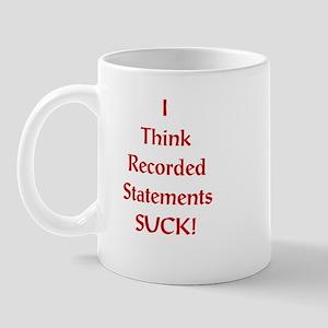 Statements suck Mug