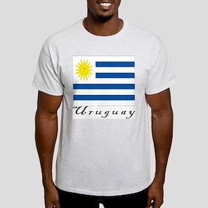 Uruguay Ash Grey T-Shirt