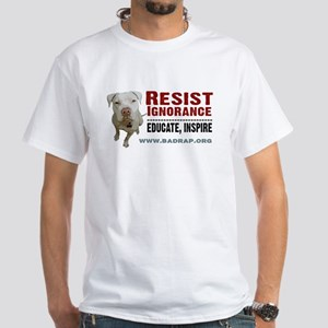 Resist Ignorance Ash Grey T-Shirt