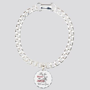 By The Blood Charm Bracelet, One Charm
